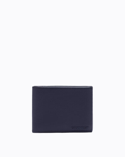 CALVIN KLEIN AIDEN TEXTURE BILLFOLD WALLET WITH CARD CASE