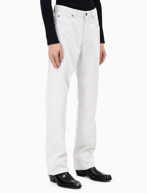 CALVIN KLEIN oversized straight leg jeans