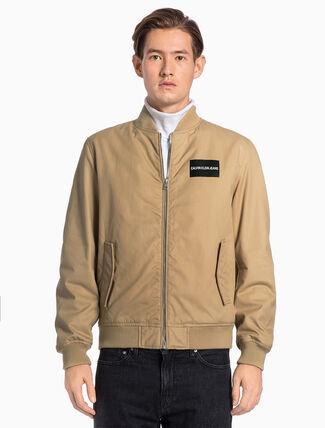CALVIN KLEIN Cotton Bomber Jacket