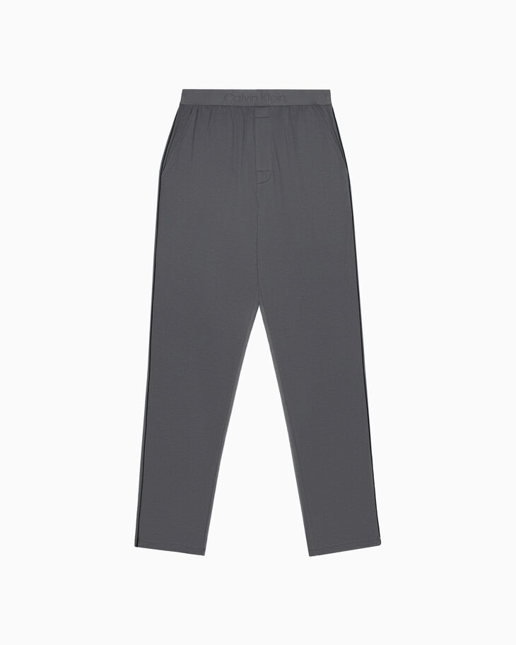 CALVIN KLEIN CK BLACK ELEVATED KNIT SLEEP PANTS