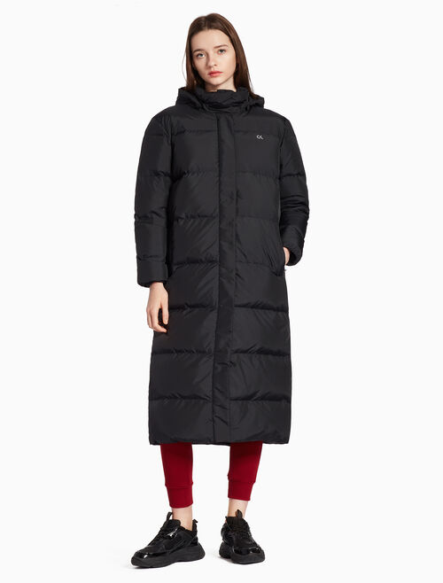 CALVIN KLEIN VAPOR WARM LONG DOWN JACKET