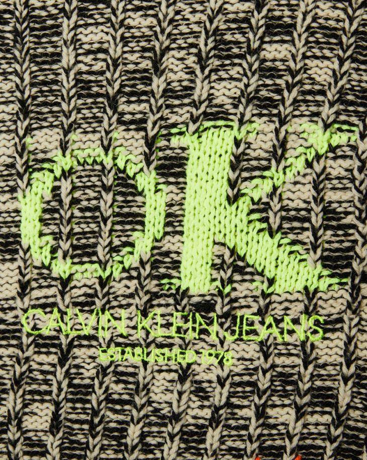 CALVIN KLEIN CONTRAST SLEEVE 스웨터