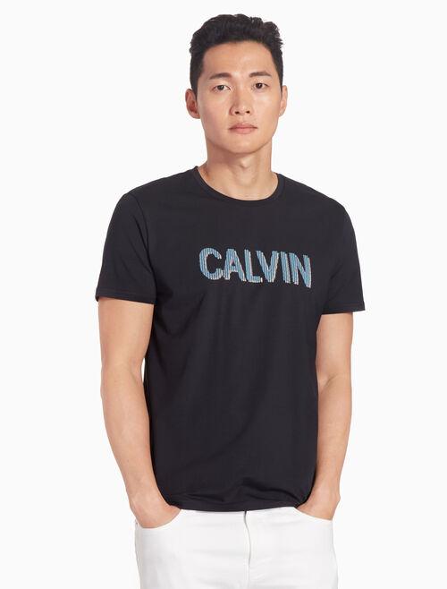 CALVIN KLEIN CALVIN LOGO SLIM TEE
