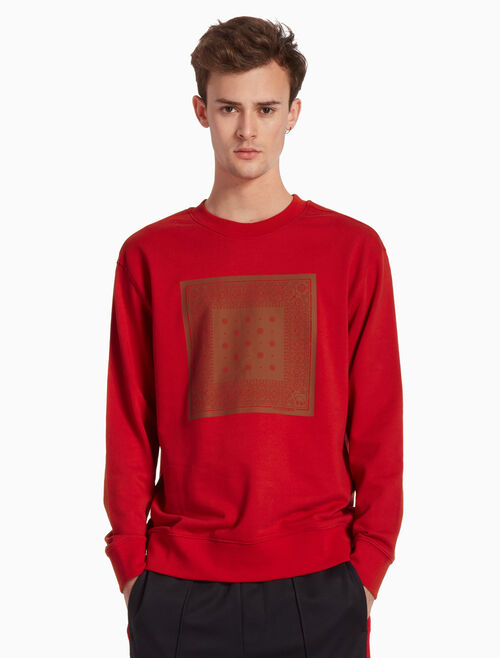 CALVIN KLEIN YEAR OF PIG PRINT SWEATSHIRT