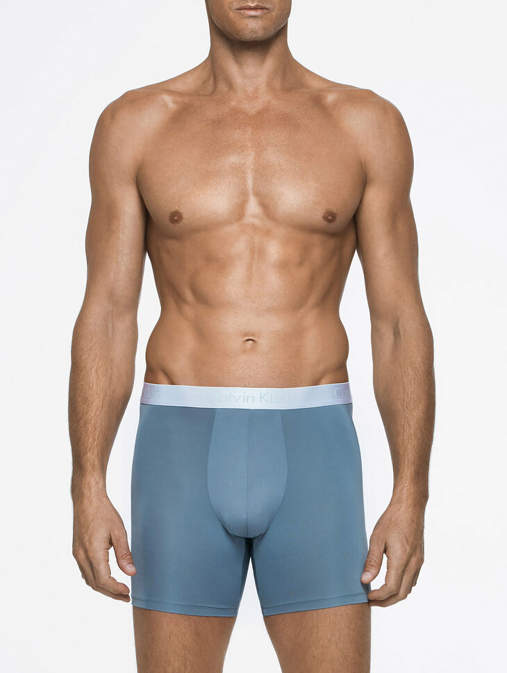 CALVIN KLEIN LIQUID STRETCH BOXER BRIEF