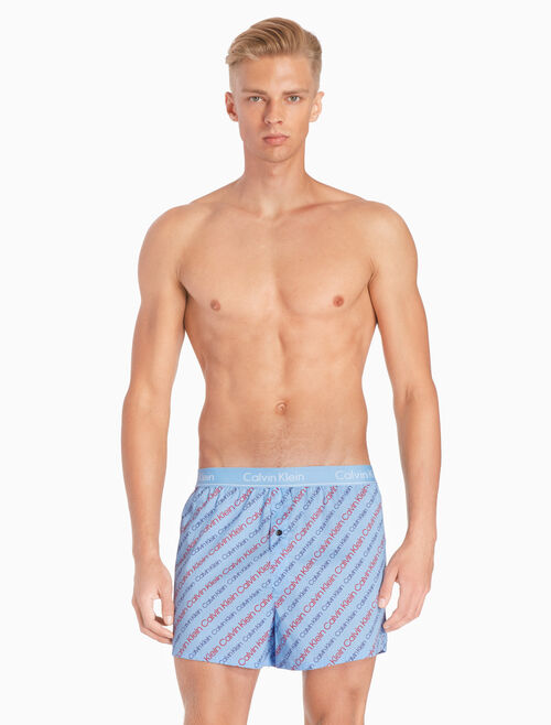 CALVIN KLEIN WOVEN BOXER IN SLIM FIT