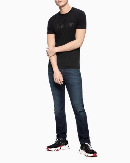 CALVIN KLEIN GLITTER LOGO 티셔츠