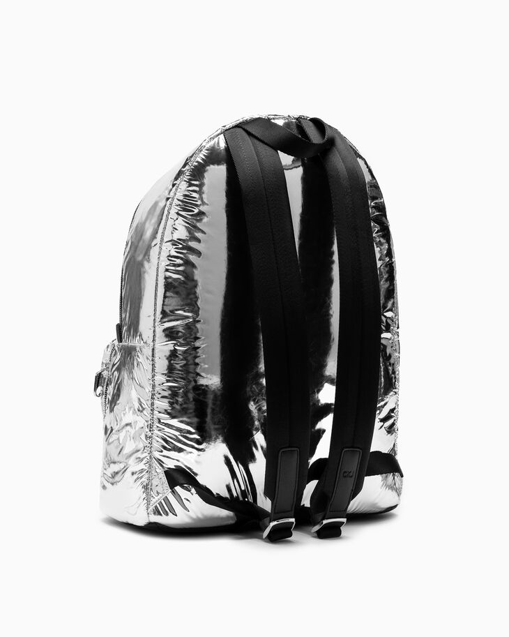 CALVIN KLEIN SPACE FOIL CAMPUS BACKPACK 45