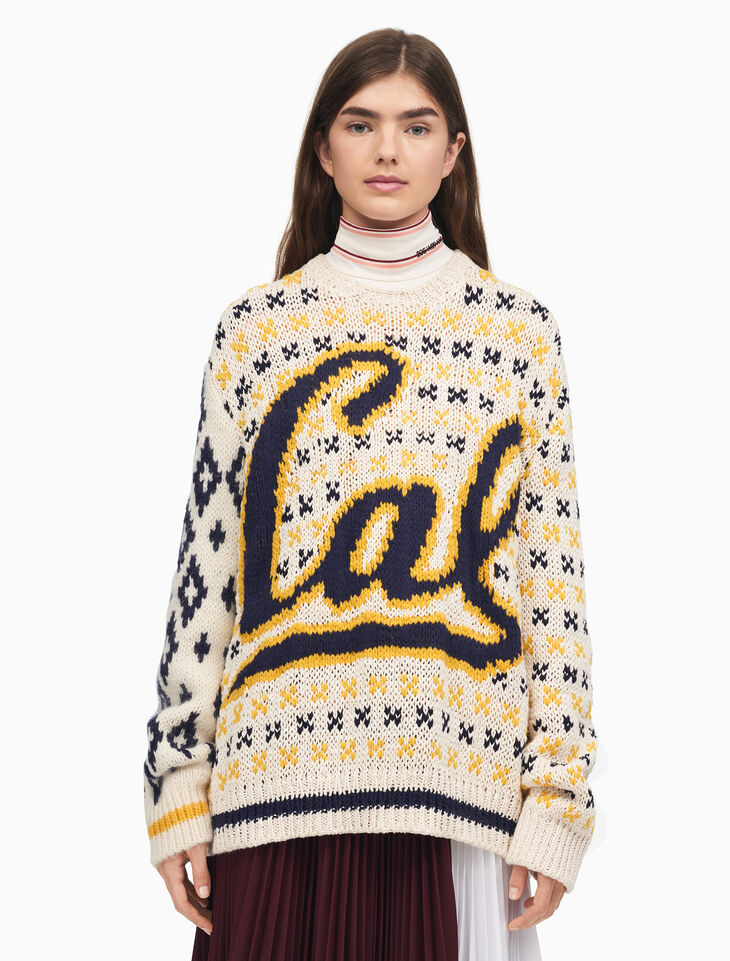 CALVIN KLEIN BERKELEY CREWNECK KNIT SWEATER