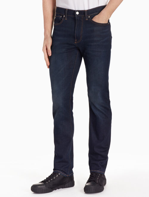 CALVIN KLEIN 37.5 MEN SLIM STRAIGHT JEANS