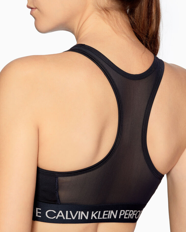 CALVIN KLEIN MEDIUM IMPACT RACERBACK SPORTS BRA