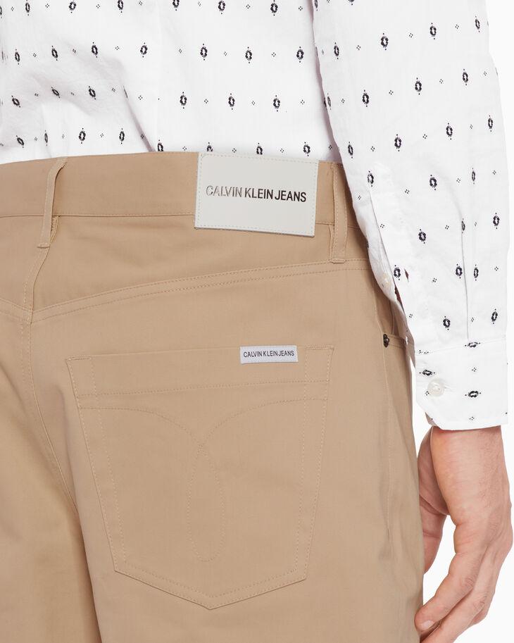 CALVIN KLEIN CKJ 056 TWILL TAPER PANTS
