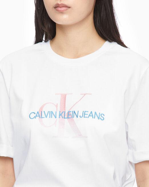 CALVIN KLEIN DEGRADE LOGO 티셔츠