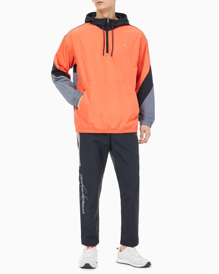 CALVIN KLEIN PERFORMANCE ICON COLOR BLOCK ANORAK