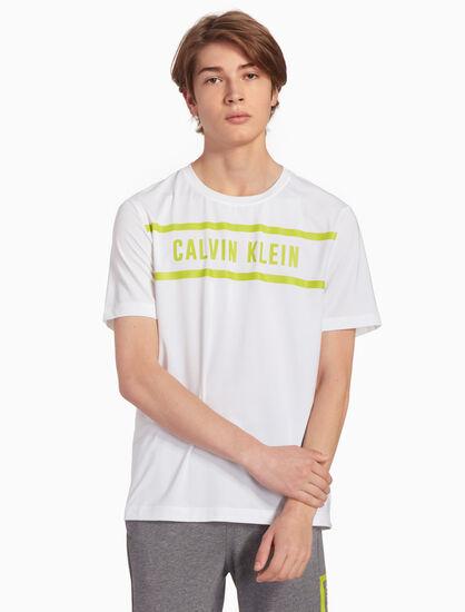 CALVIN KLEIN LOGO 패널 티셔츠