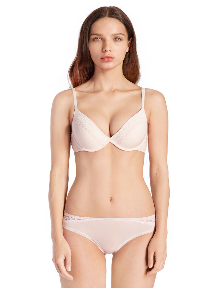 CALVIN KLEIN FLIRTY PUSH UP PLUNGE BRA