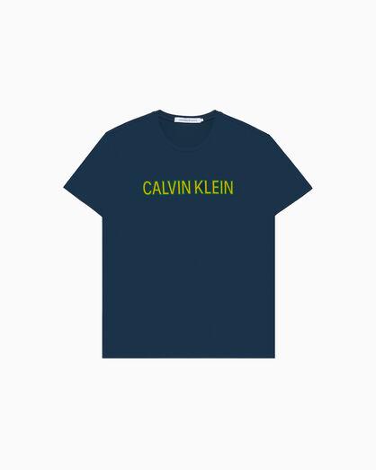 CALVIN KLEIN INSTITUTIONAL LOGO 티셔츠