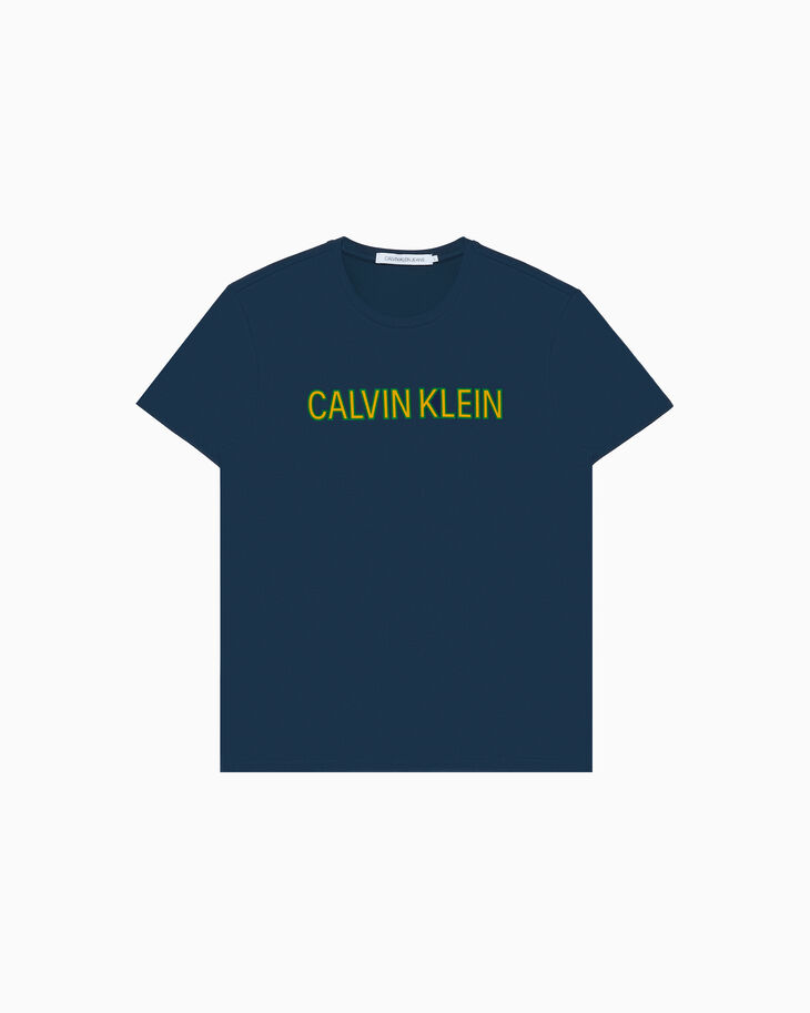 CALVIN KLEIN INSTITUTIONAL LOGO 티셔츠