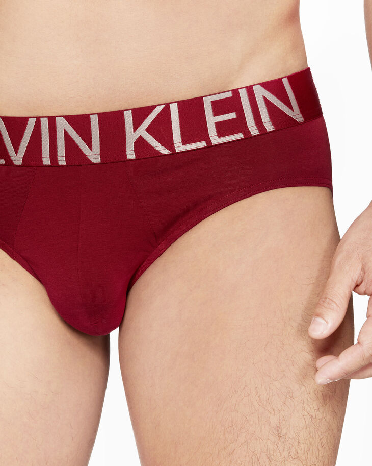 CALVIN KLEIN CK ID STATEMENT COTTON HIPSTER BRIEFS