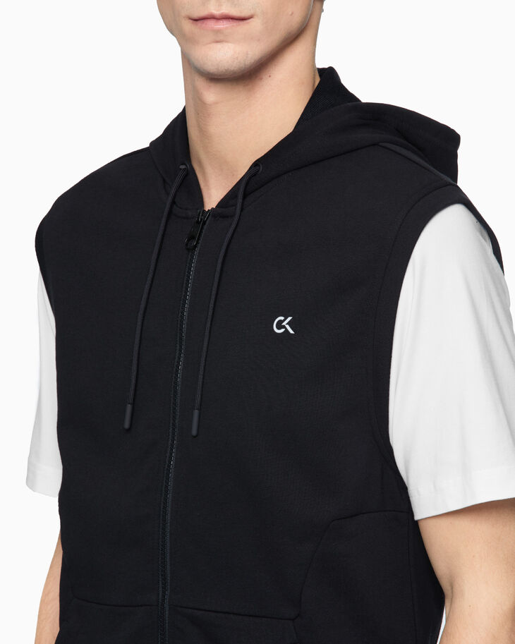 CALVIN KLEIN HOODED SWEAT VEST