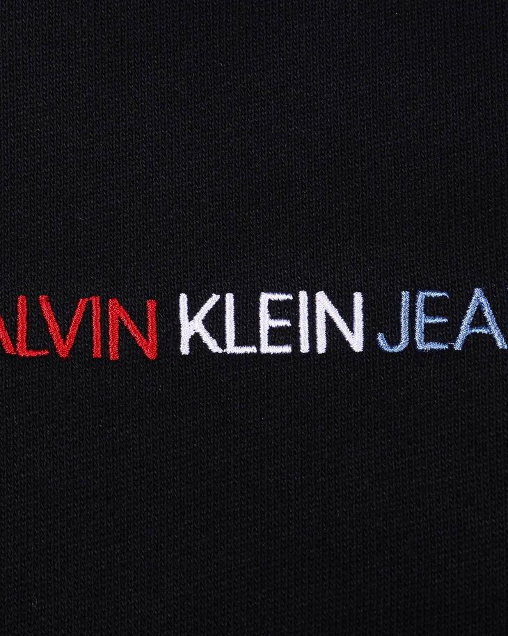 CALVIN KLEIN RHINESTONE CALVIN LOGO CREWNECK SWEATSHIRT