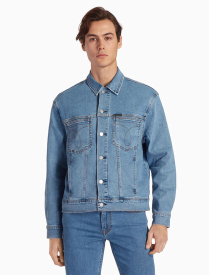 CALVIN KLEIN ICONIC OMEGA DENIM JACKET