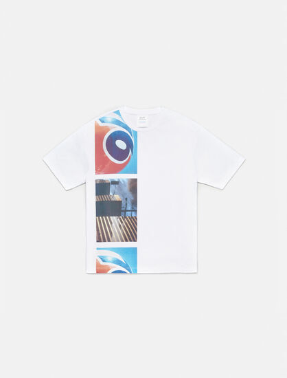 CALVIN KLEIN GRAPHIC CREWNECK T-SHIRT