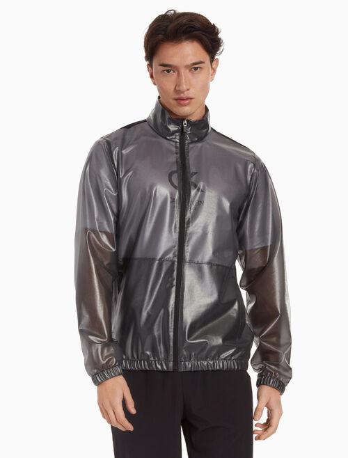 CALVIN KLEIN MESH ZIP UP WINDBREAKER JACKET