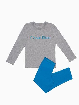 CALVIN KLEIN BOYS KNIT PYJAMA SET