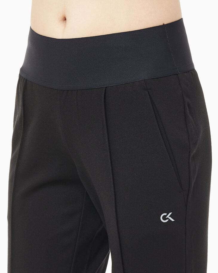 CALVIN KLEIN ACTIVE ICON SLIM FLARED SWEAT PANTS