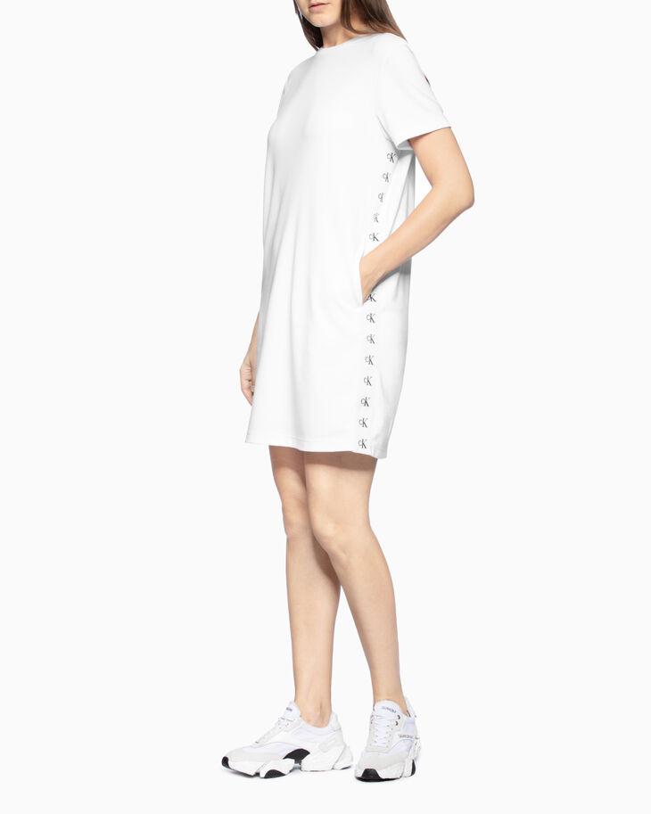 CALVIN KLEIN MONOGRAM LOGO DRESS