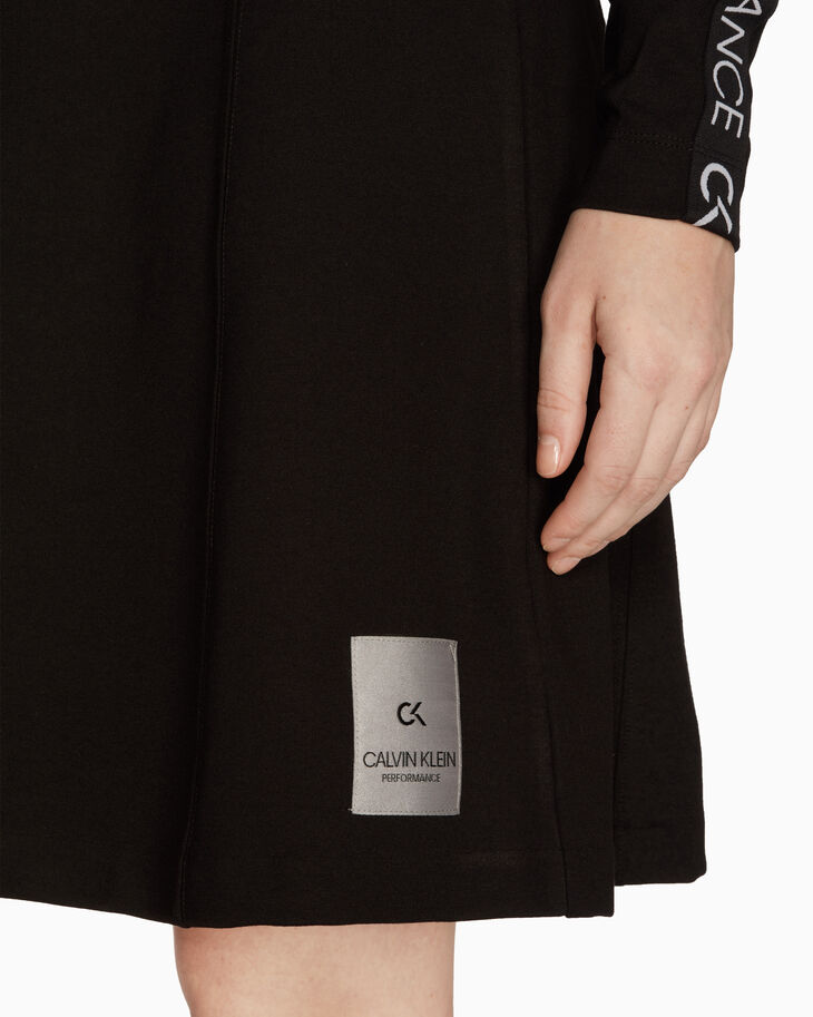 CALVIN KLEIN GALAXY LOGO TAPE DRESS