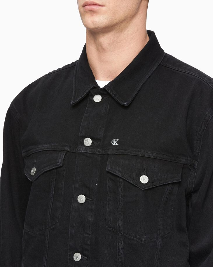 CALVIN KLEIN CK ONE OVERSIZED FOUNDATION DENIM JACKET