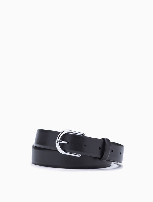 CALVIN KLEIN OVAL REVERSIBLE BUCKLE BELT