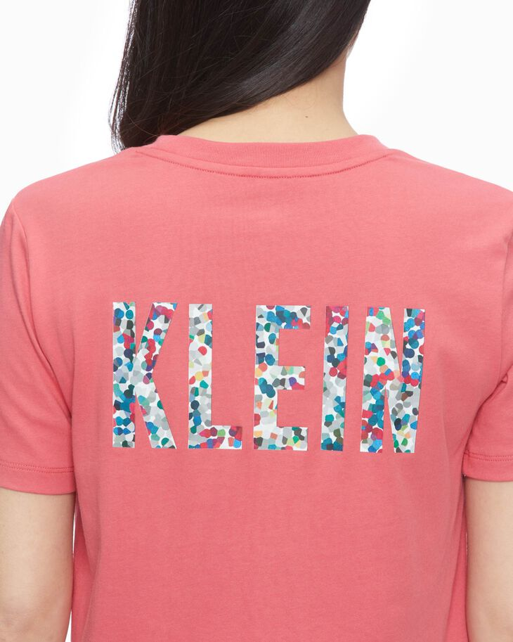 CALVIN KLEIN AOP X FLORAL SHORT SLEEVE TEE