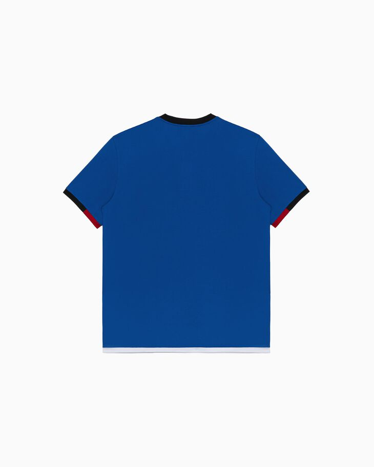 CALVIN KLEIN COLOR BLOCK COTTON TEE