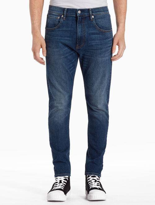 CALVIN KLEIN TARRA BLUE MODERN 窄管牛仔褲