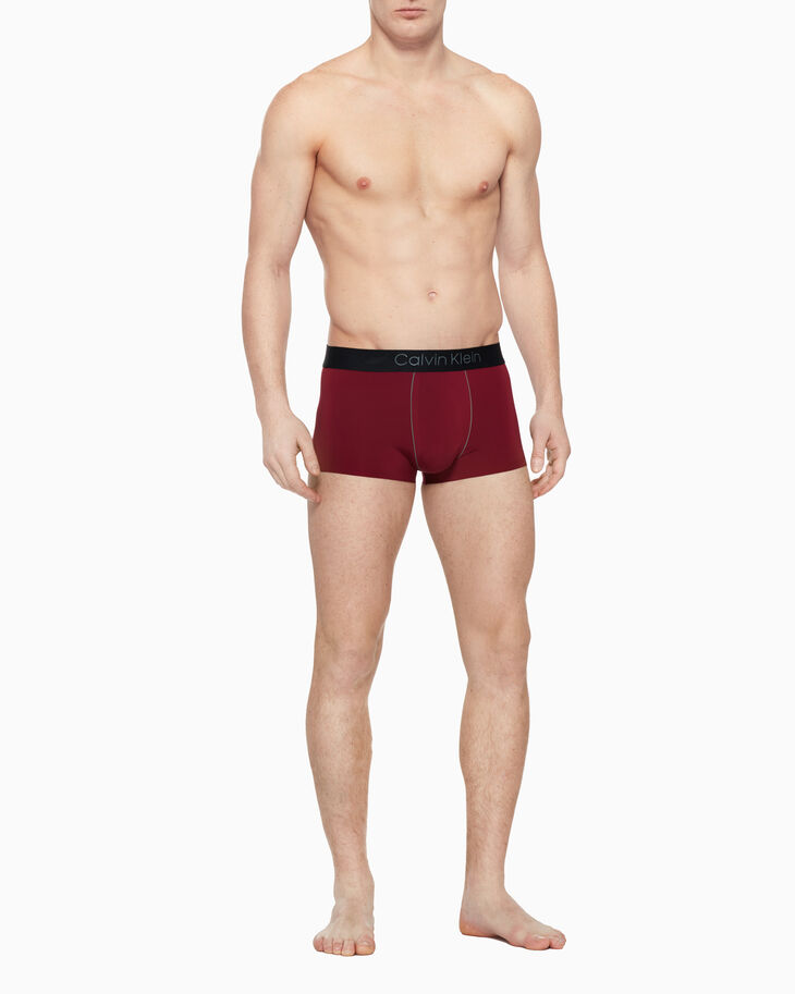 CALVIN KLEIN CK BLACK PREMIUM BONDED LOW RISE TRUNK
