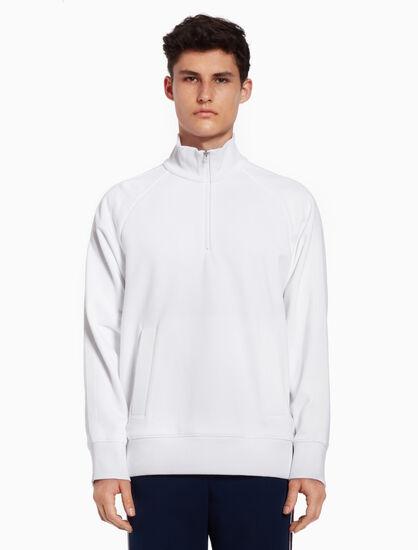 CALVIN KLEIN Stand-up collar sweatshirt