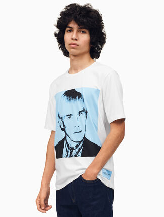 CALVIN KLEIN Warhol Portrait Regular Fit T-Shirt