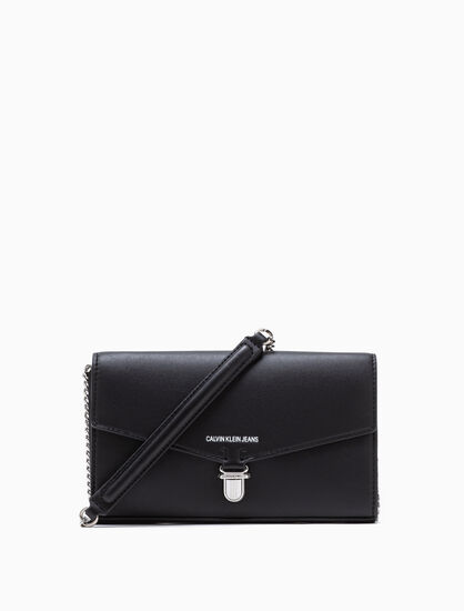 CALVIN KLEIN LONG CROSSBODY WALLET