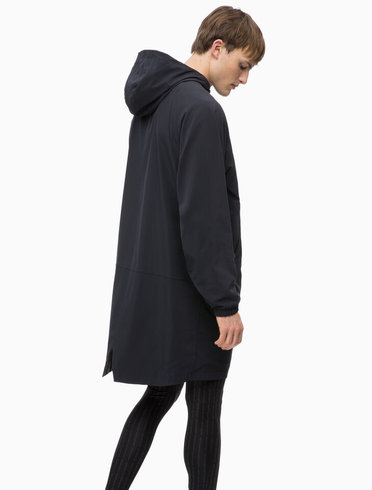 CALVIN KLEIN LONG HOODED JACKET