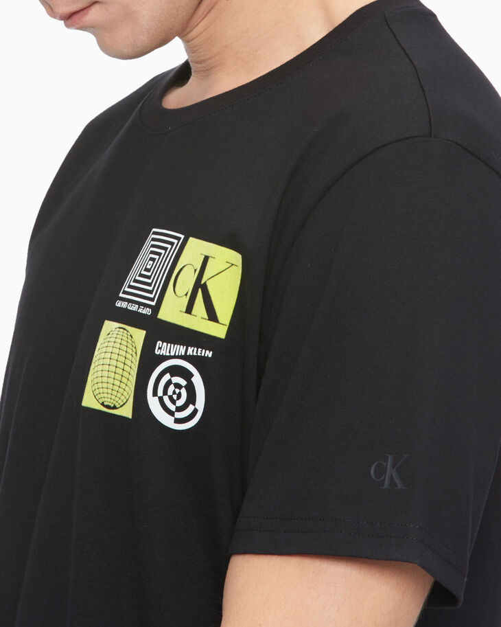 CALVIN KLEIN FLYER GRAPHIC LOGO TEE