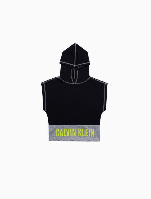 CALVIN KLEIN 男孩款無袖連帽上衣