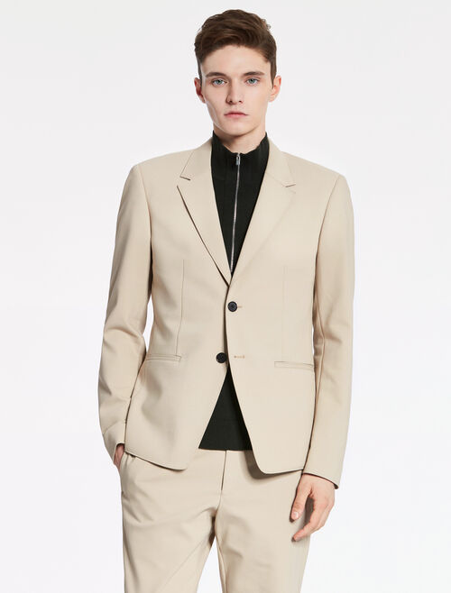 CALVIN KLEIN TECH COTTON OXFORD DECONSTRUCTED JACKET