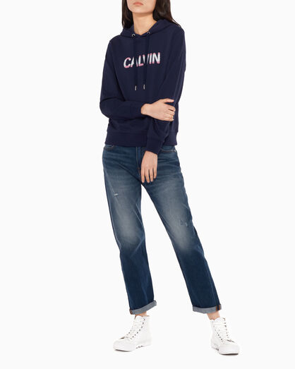 CALVIN KLEIN FRENCH TERRY LOGO SWEATSHIRT