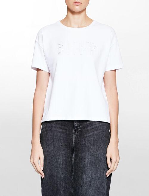 CALVIN KLEIN ファッションロゴ T シャツ