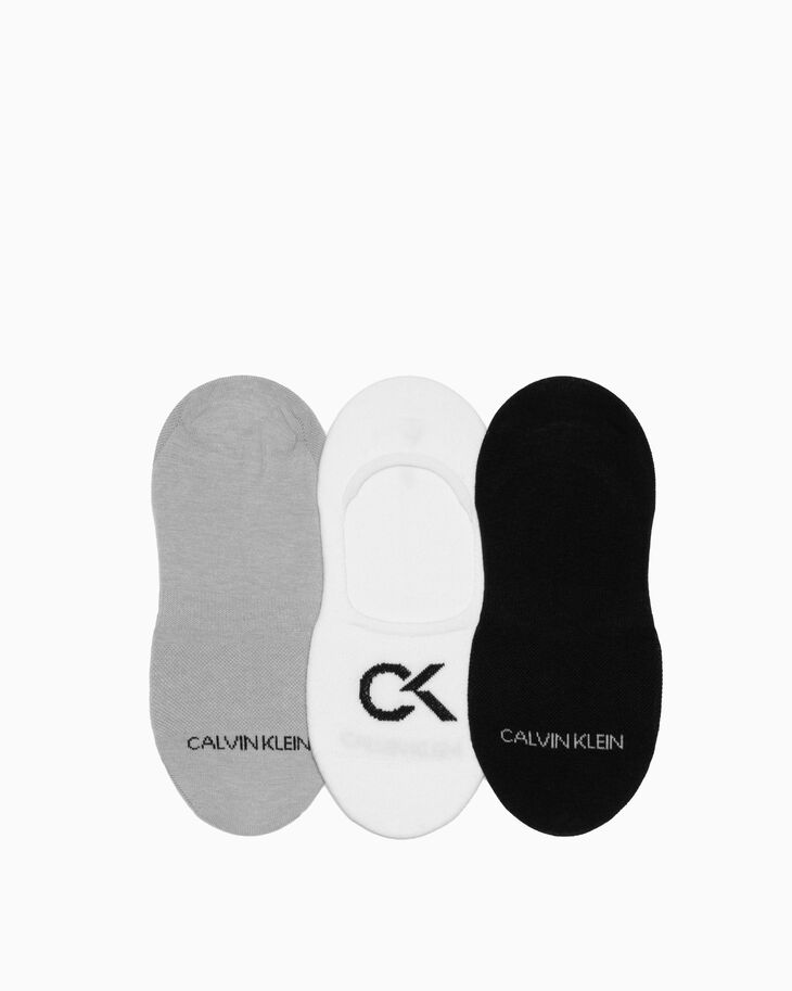 CALVIN KLEIN COTTON COOLMAX LINERS 3 PACK