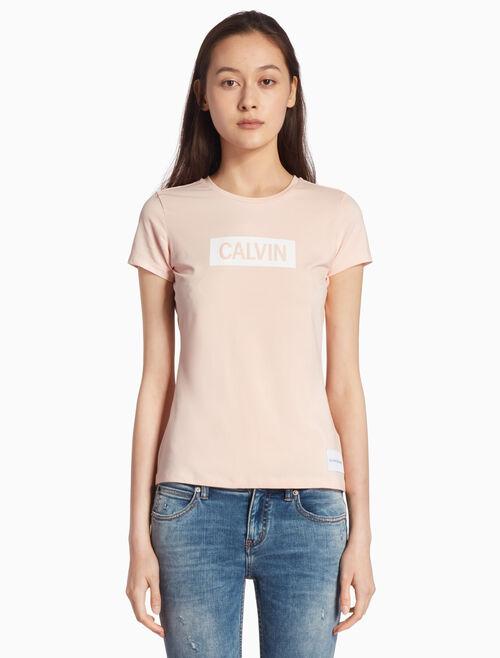 CALVIN KLEIN INSTITUTION LOGO BOX 티셔츠