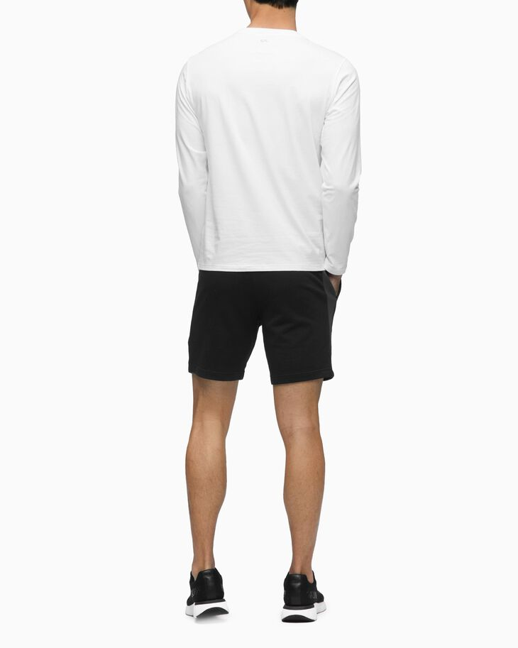CALVIN KLEIN COLOR BLOCK KNIT SHORTS